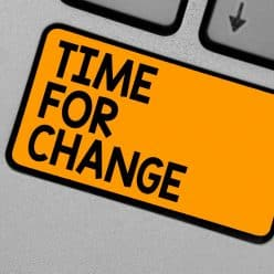 Word Writing Text Time For Change. Business Concept For Changing