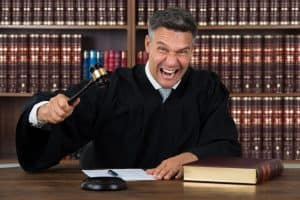 Angry judge awarding attorney's fees