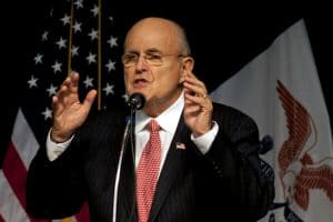 Rudy Giuliani at fault?